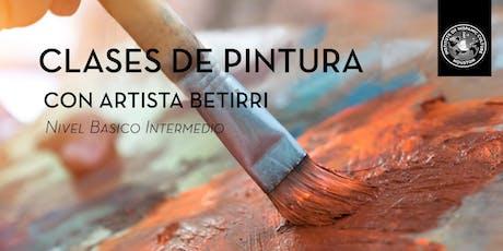 Clases de Pintura con artista Betirri  tickets