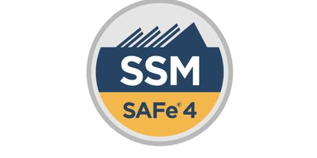 SAFe Scrum Master  tickets