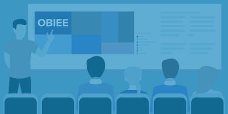 TRN908: OBIEE 12c Front End Development & Data Visualization (Remote and In-Class Alpharetta, GA September 2019) tickets