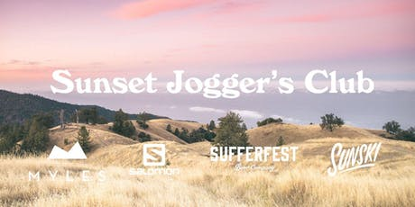 Sunski Joggers Club with Salomon, Myles and Sufferfest tickets