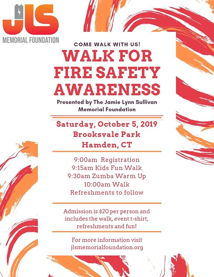 Walk for Fire Safety Awareness presented by The JLS Memorial Foundation image