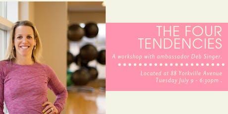 4 Tendencies Workshop w/ Deb tickets