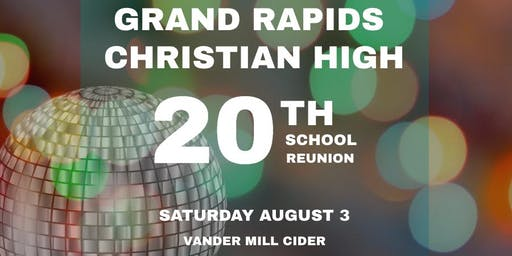 GRCHS Class of '99 20 Year Reunion