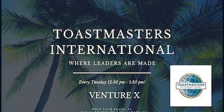 Toastmasters International tickets