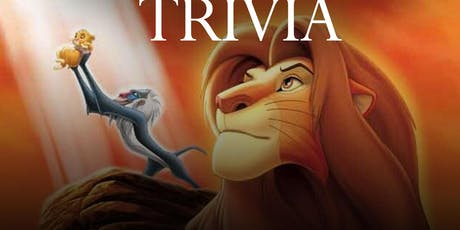 "The Lion King (1994) ""Beer Garden Brunch"" Trivia tickets"
