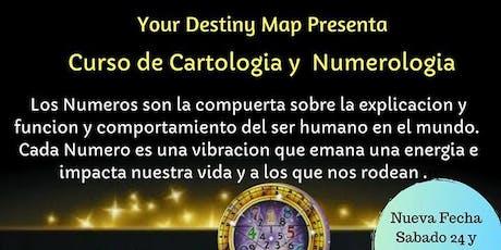 Curso de Cartologia y Numerologia entradas