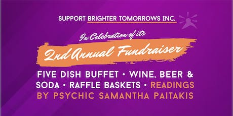 Brighter Tomorrows Second Annual Fundraiser! tickets