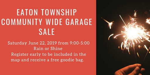 Eaton Twp. Community Wide Garage Sale