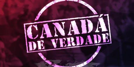 Palestra Sobre Estudar, Trabalhar e Imigrar para o Canadá - Intercâmbio ingressos