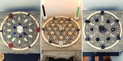 Sacred Space Circles- Intro to Crystals & Crystal Grids