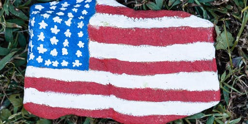 Adult's Patriotic Stepping Stone Class
