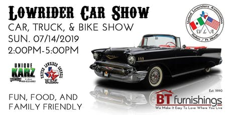 LOWRIDER CAR SHOW tickets