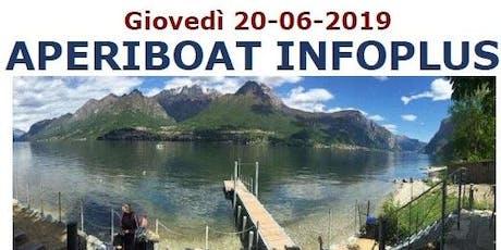 AperiBoat Infoplus del 20/06/2019 biglietti
