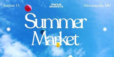 Minneapolis Summer Pop-Up Market