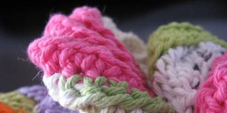 Crochet Scrubbie Making tickets