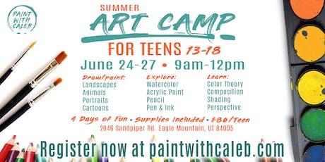 Summer Art Camp for Teens tickets