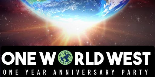 One World Brewing West's One Year Anniversary Party