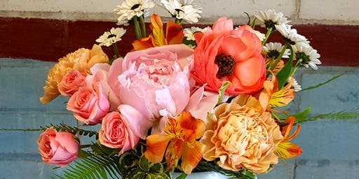 Floral Arrangement & Candle Making Class
