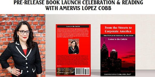 PRE-RELEASE BOOK LAUNCH CELEBRATION & READING  WITH Amervis López Cobb