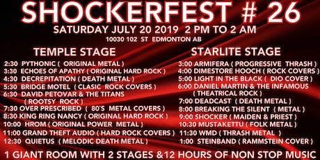 Shockerfest #26 tickets