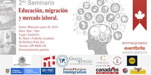 2do Seminario de educación, migración y mercado laboral