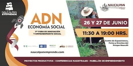 """Primer foro de Economía Social """"ADN Emprendedor"""" entradas"""