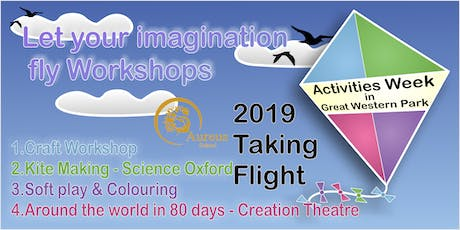 Let your imagination fly -  Workshops tickets
