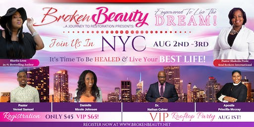 Broken Beauty 2019 Women's Conference NYC