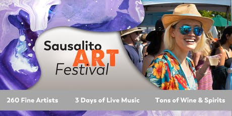 2019 Sausalito Art Festival tickets