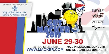 Gus Macker Volunteer Opportunities  tickets
