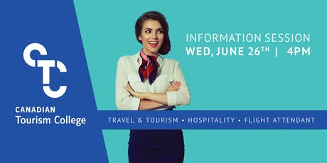 Information Session - Canadian Tourism College tickets