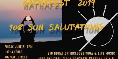 HathaFest 108 Sun Salutations