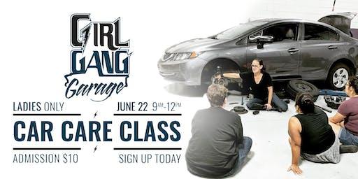 Women's Car Care Class