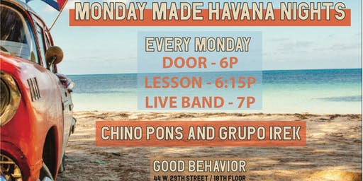 MONDAY MADE HAVANA NIGHTS ROOFTOP SALSA PARTY