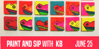 [x]space Paint and Sip with KB