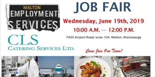 CLS Job Fair Event (Airline Catering Services)