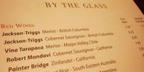 Conquering the Restaurant Wine List  tickets