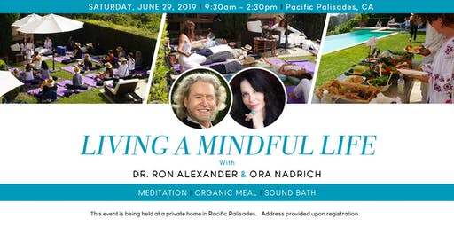 Living a Mindful Life: with Mindfulness Teachers Dr. Ronald Alexander & Ora Nadrich