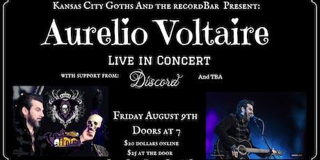 Aurelio Voltaire Live tickets