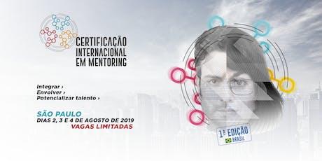 Certificação Internacional em Mentoring - São Paulo ingressos