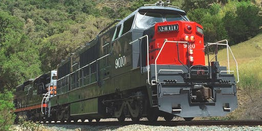 SP 9010 Krauss Maffei Family Railfan Event  Sat. July 20th Departure 1:30 p.m.
