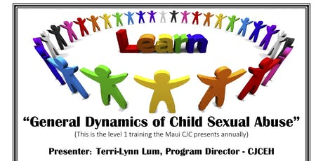 General Dynamics of Child Sexual Abuse tickets