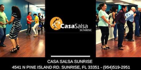 Casa Salsa Sunrise Salsa Classes  tickets
