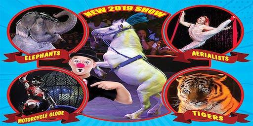 Loomis Bros. Circus: 2019 'Circus TraditionsTour' - LAURENS, SC