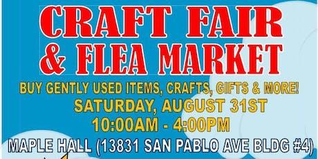 Craft Fair & Flea Market tickets