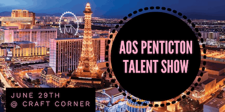 AOS PENTICTON TALENT SHOW tickets