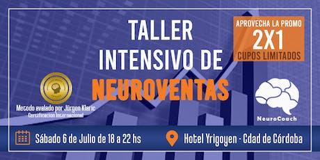 Taller Intensivo de Neuroventas entradas