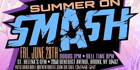 B.C.W. BriiCombination Wrestling Presents: Summer on Smash 3 tickets