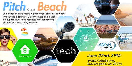 Startup House Pitch on the Beach