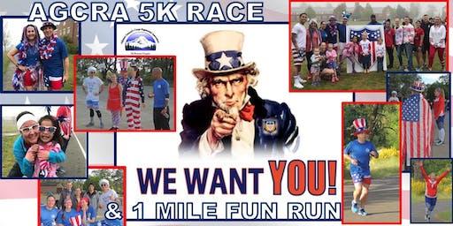 Red, White & Blue 5K Race & 1 Mile Fun Run